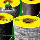 Carbon & carbonized fiber braided packing RK-270